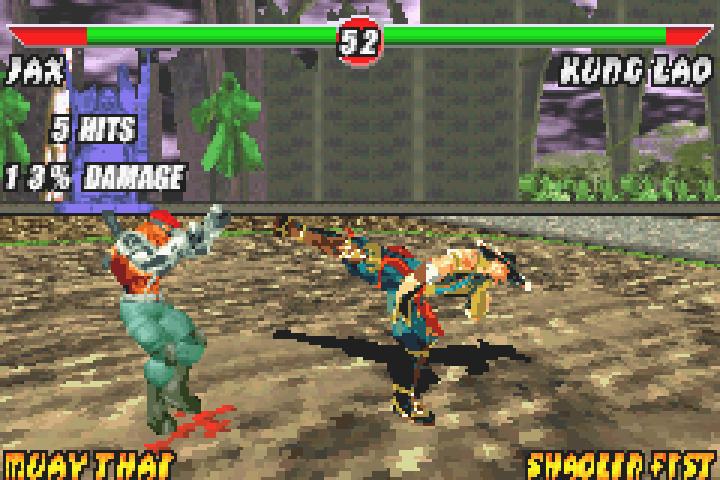 GBA | Mortal Kombat Deadly Alliance