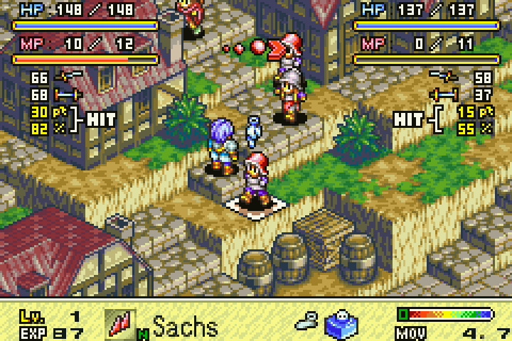 GBA | Tactics Ogre The Knight of Lodis